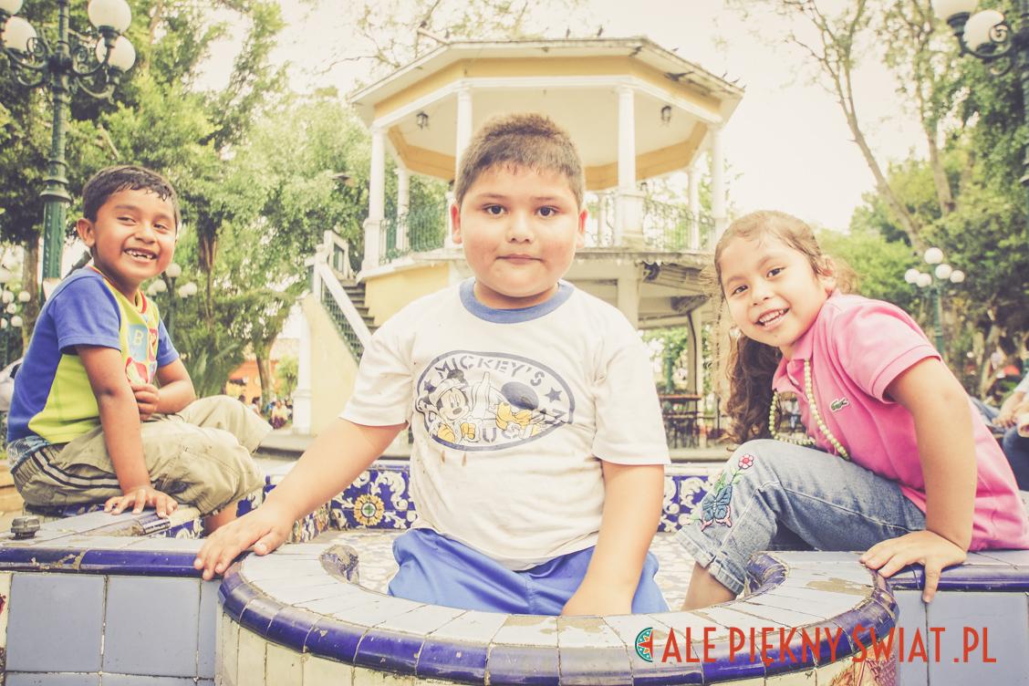 Podróż marzeń, dzieci na ulicach Meksyku