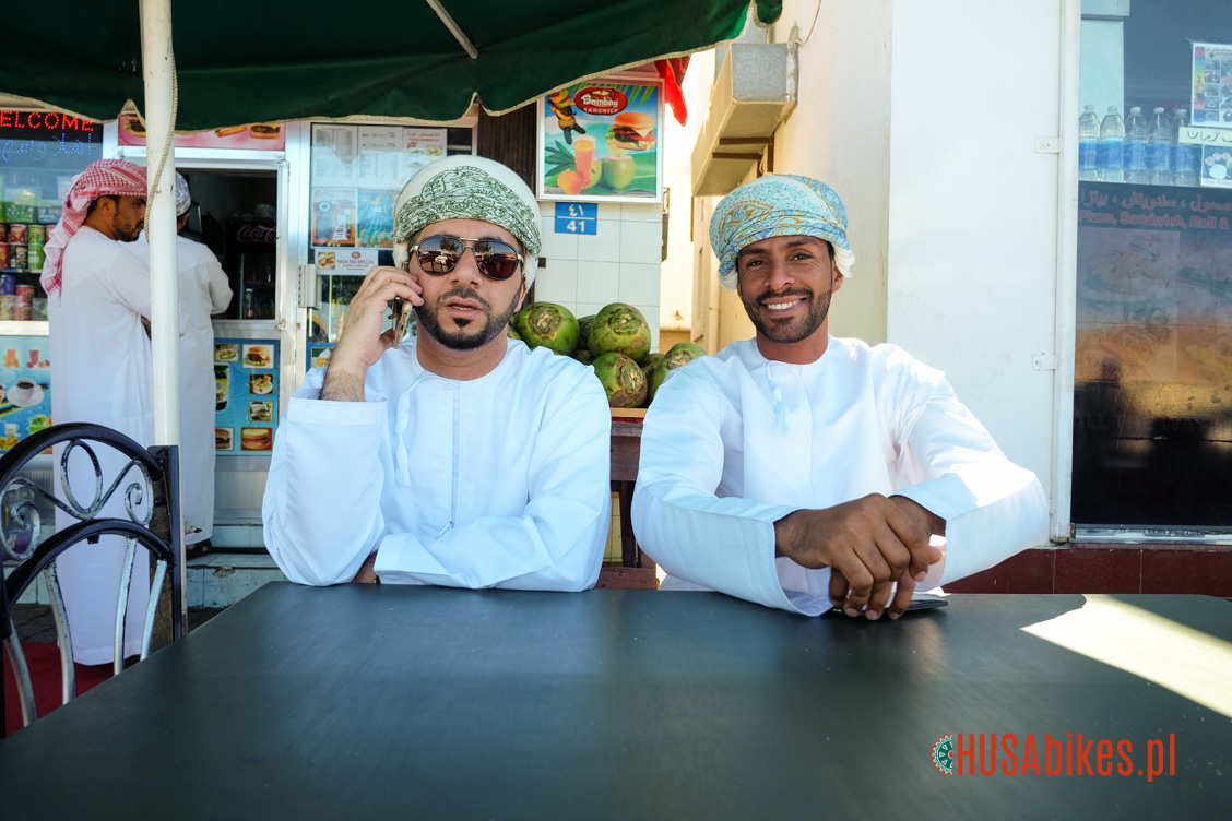 Two omani man in the coffee shop