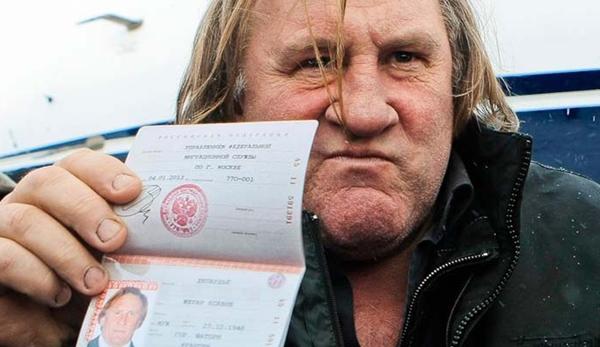 Czeczenia - gerard Depardieu z rosyjskim paszportem