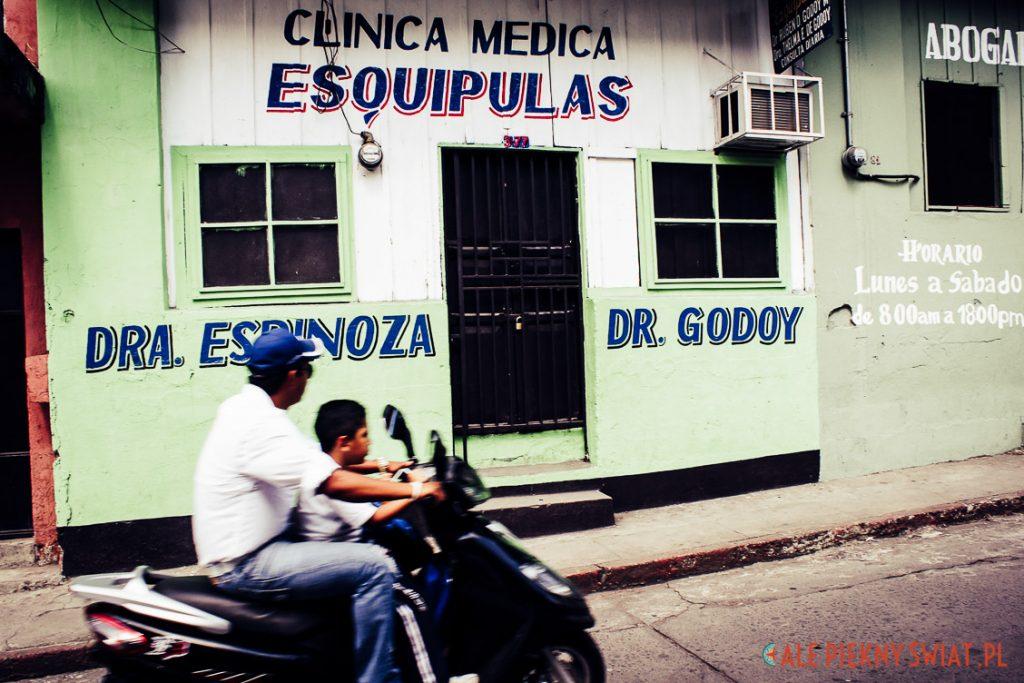 Ulice Santa Lucia Cotzumalguapa w Gwatemali