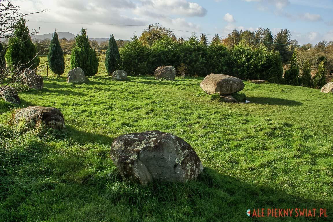 Kamienny krą w Killarney w Irlandii