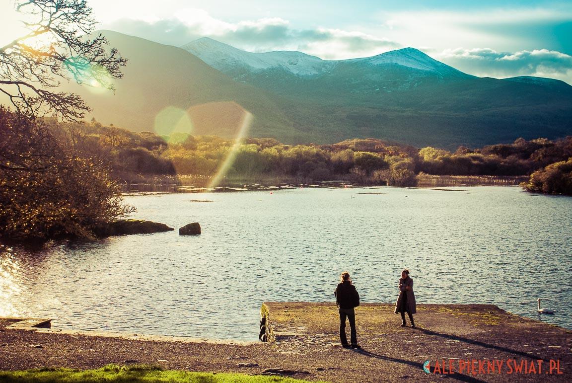 Park w Killarney w Irlandii