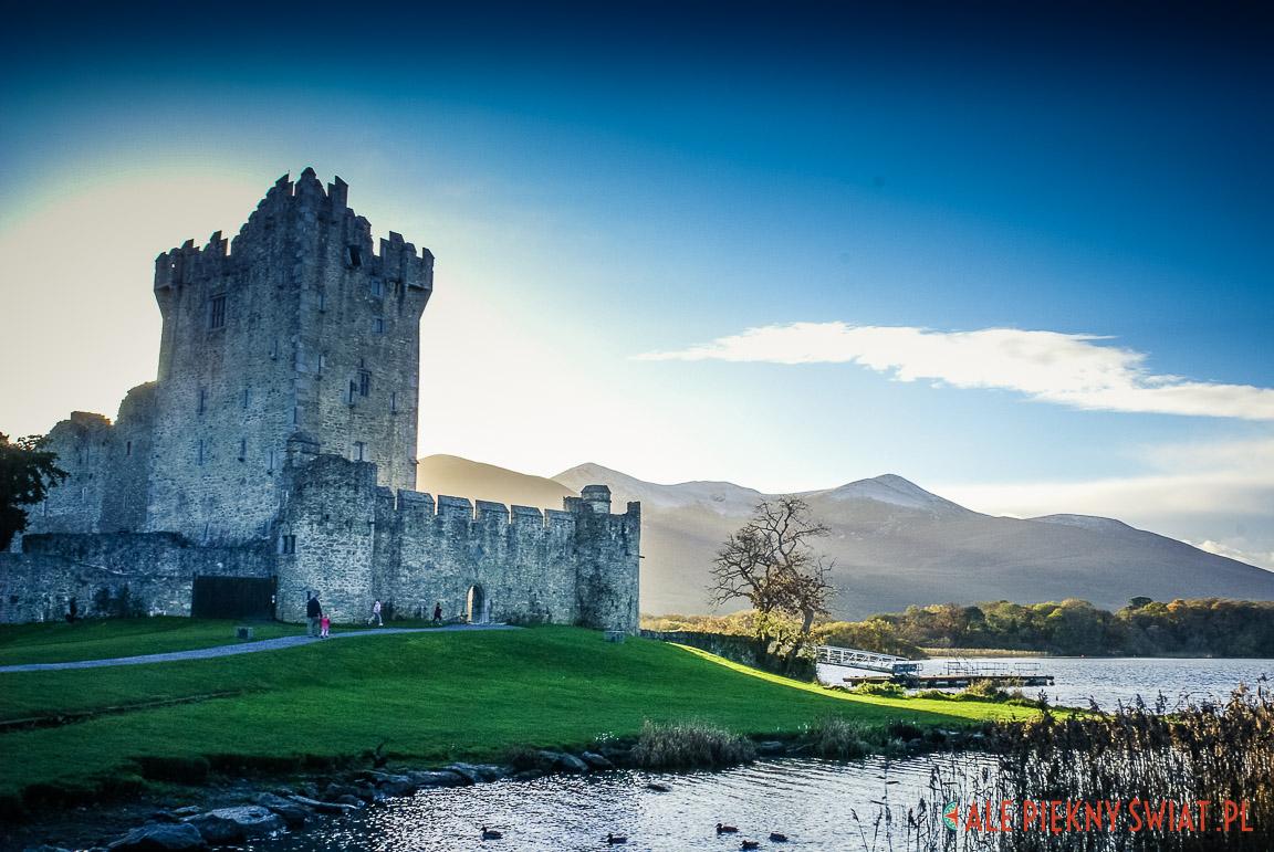 Zamek w Killarney w Irlandii