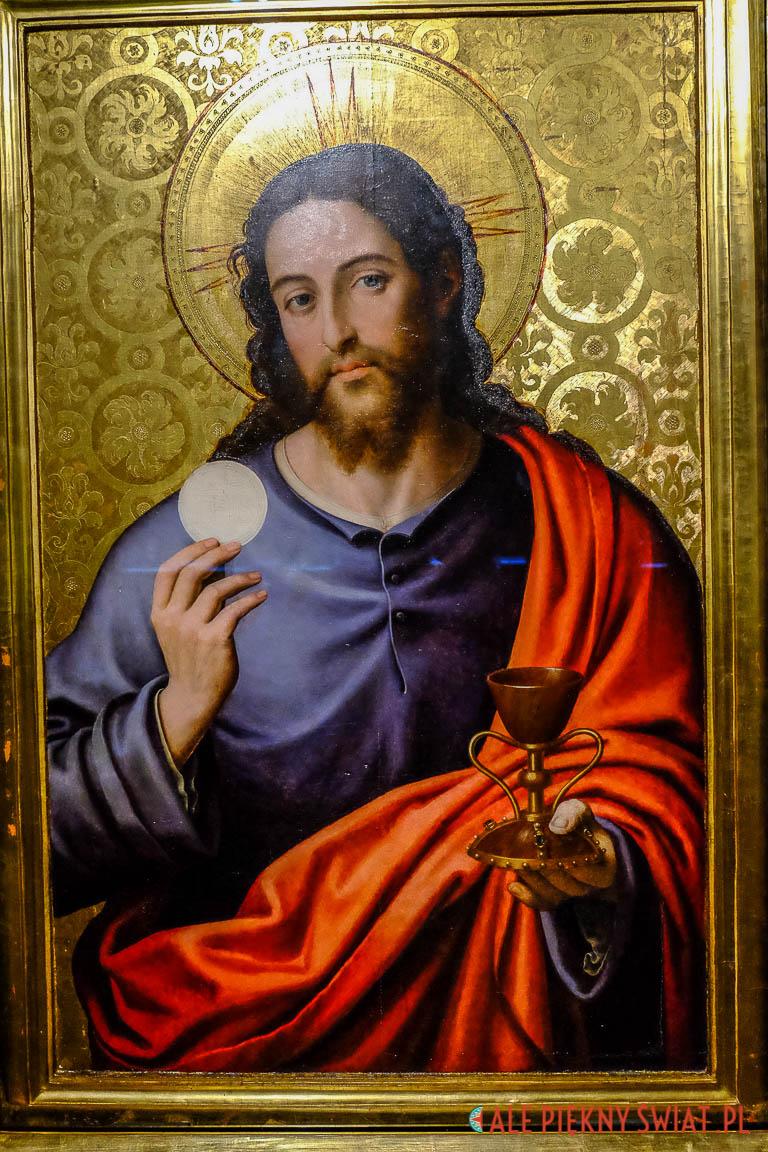 Obraz ze świętym Graalem z Walencji