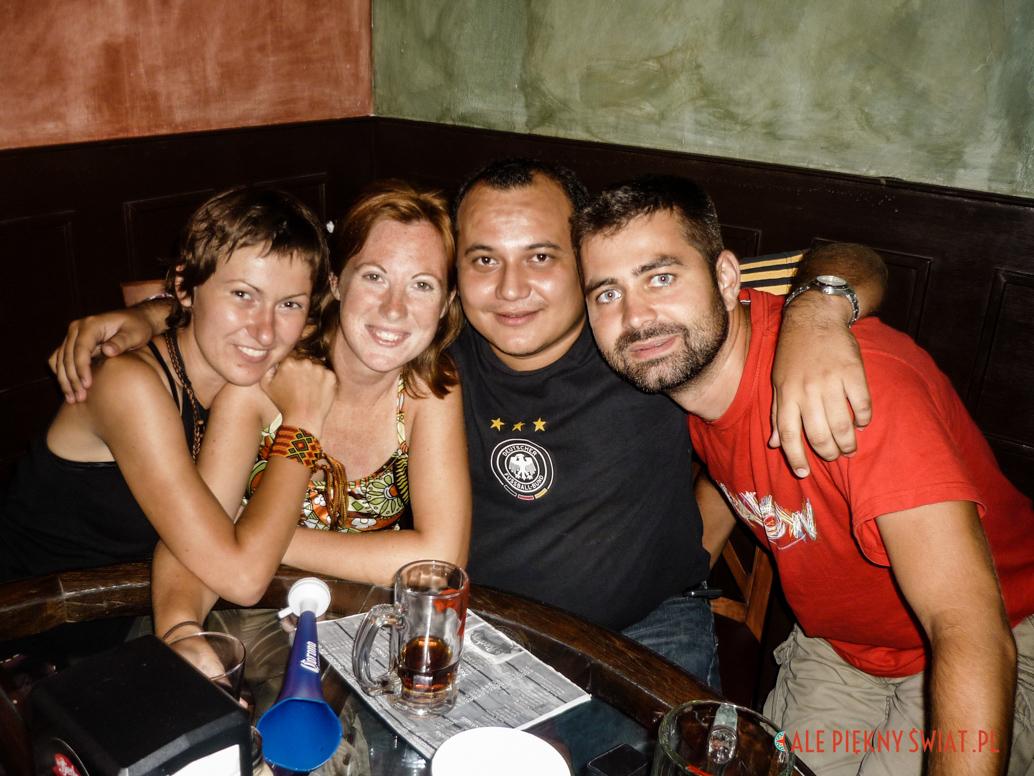Podróż mażen to spotkania z ludźmi z całego świata