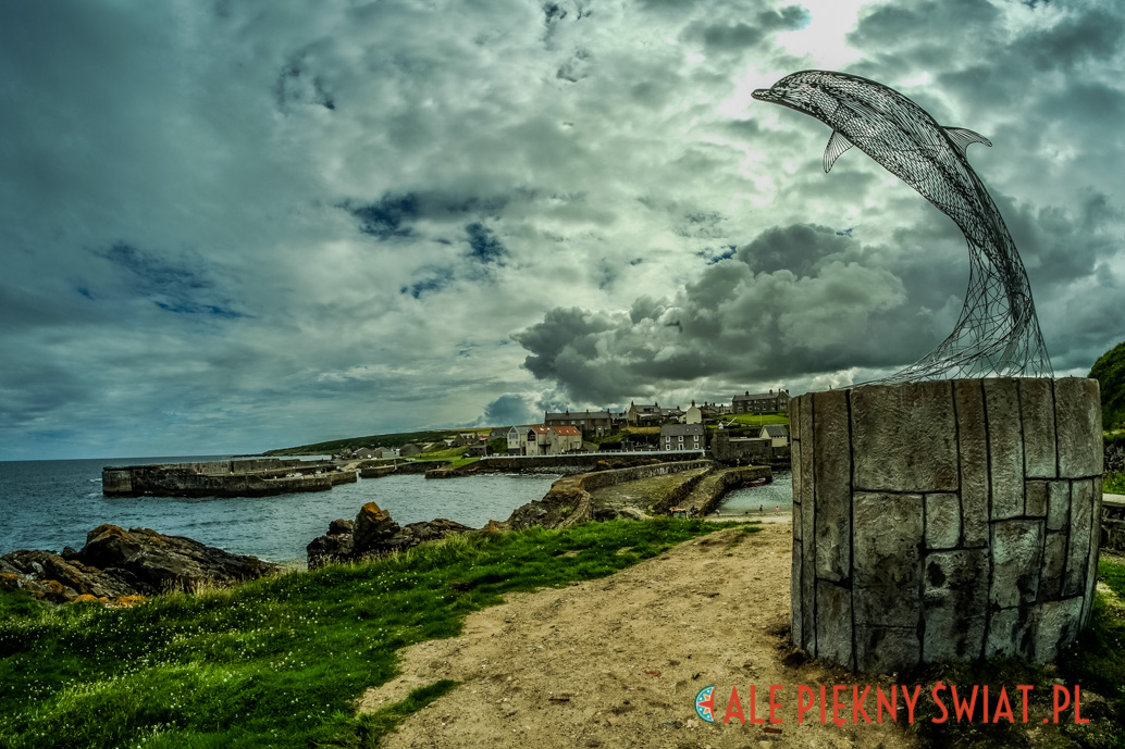 Portsoy sea view