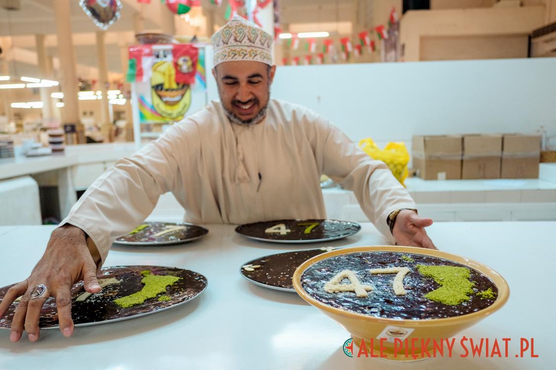 Sprzedawca Halwy w Omanie