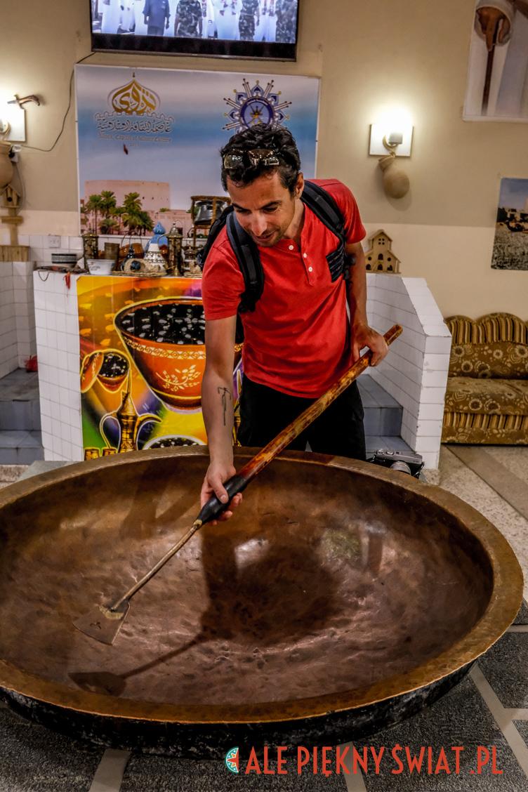 Naczynie do gotowania halwy