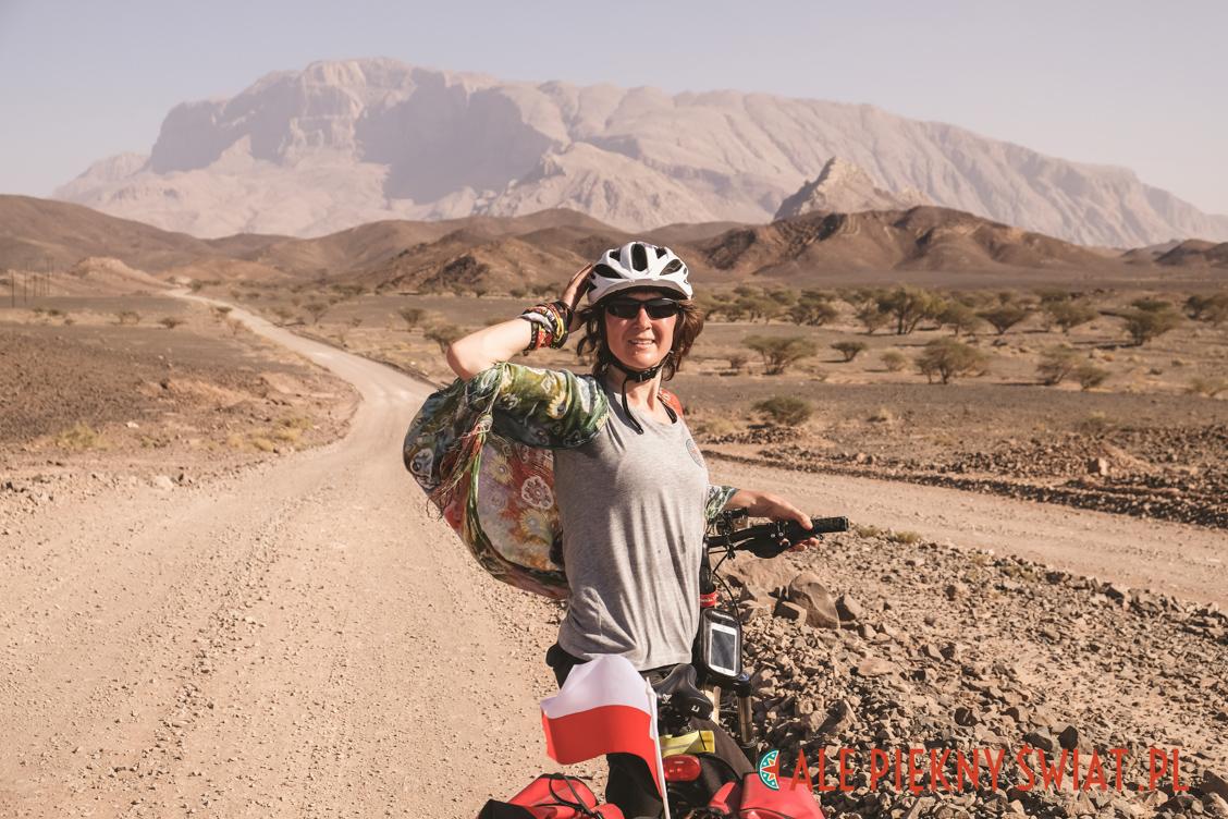 Jak się ubrać na rower w Omanie - zwyczajne.