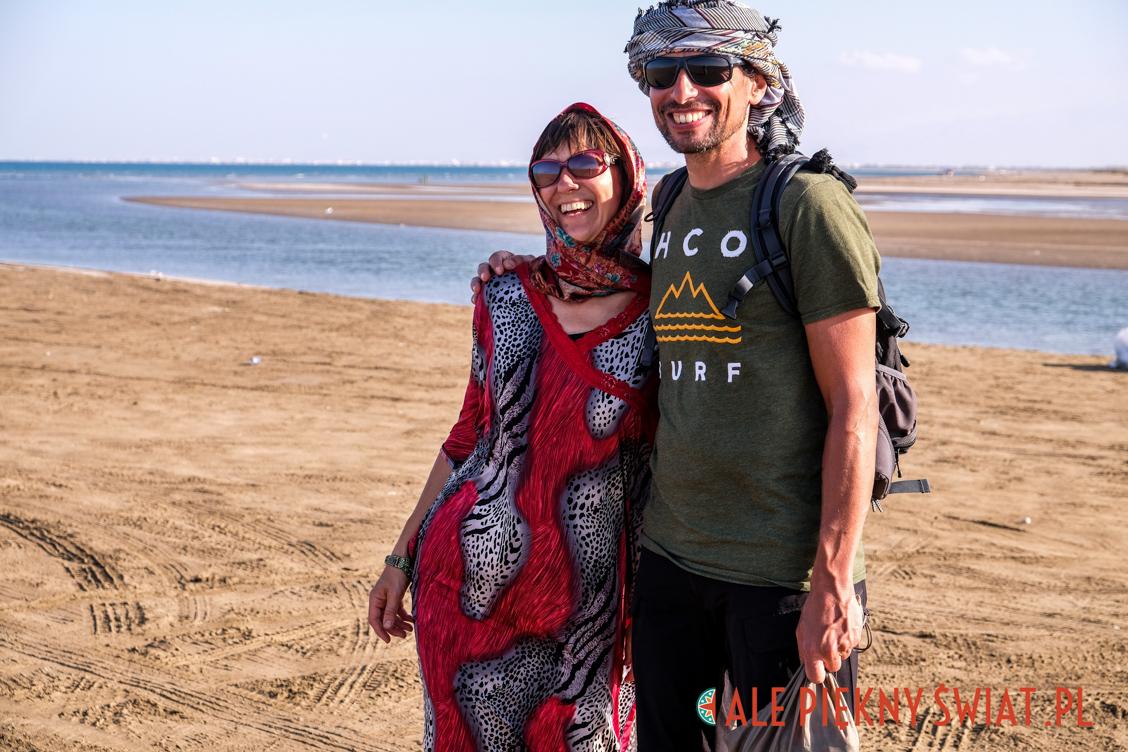Dorota i Selim pokazują jak się ubrać w Omanie