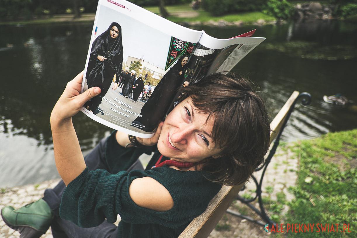 Tekst o Iranie dla magazynu rowertour