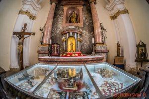 Relikwie znalezione w klasztorze w Lubomierzu