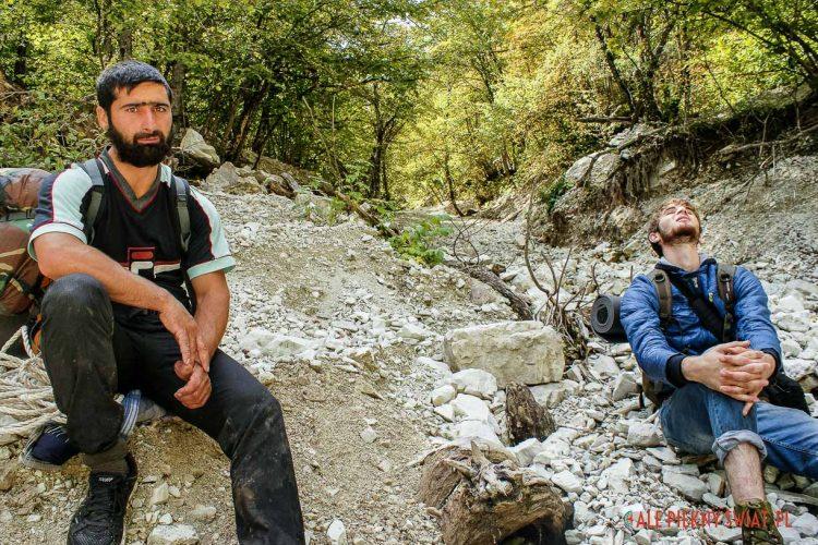treking w Czeczenii