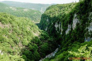 Kanion Okatse w Gruzji
