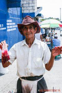 Gwatemala, ulice Santa Lucia Cotzumalguapa