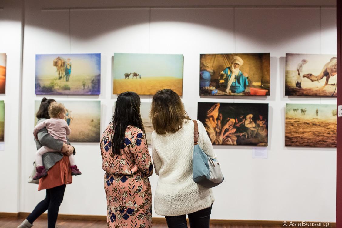 Wernisaż wystawy Sen o Saharze w Muzeum Azji i Pacyfiku w Warszawie