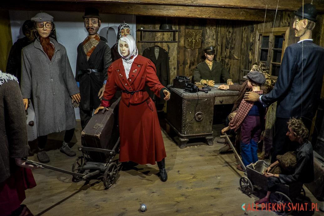 W Muzeum Wypędzonych i przesiedlonych dariusza Milińskiego