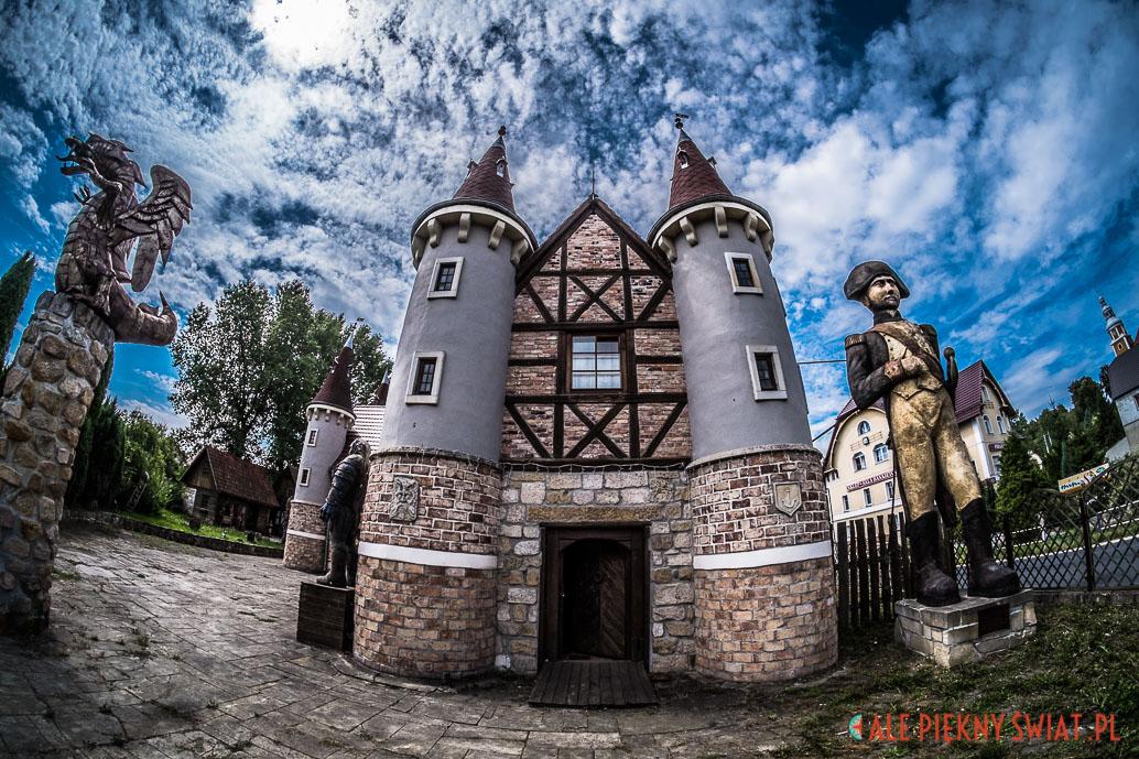 Zamek Baśni i legend Śląskich, który stworzył Dariusz Miliński