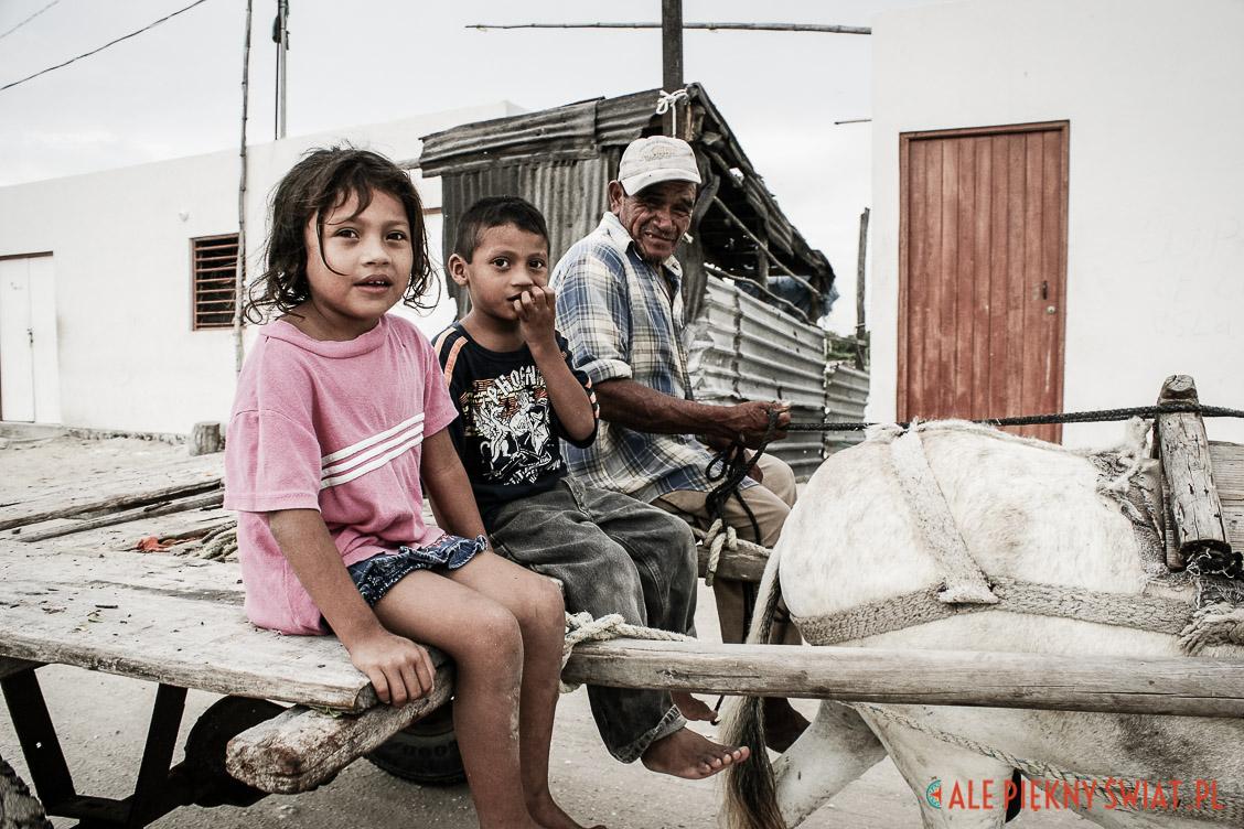 Salinas de Celestun w meksyku