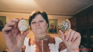 Huculskie pisanki Marii Kiraszczuk