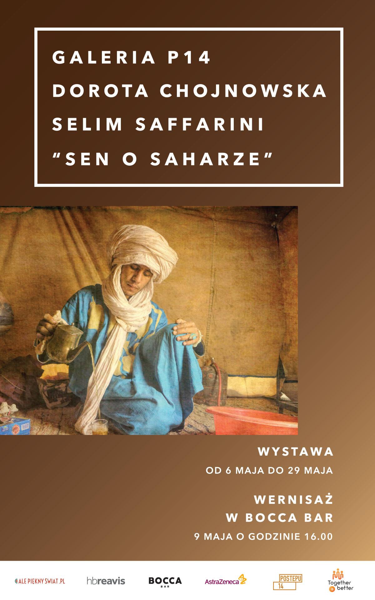 plakat wystawy sen o Saharze