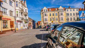 Górowo Iławeckie rynek