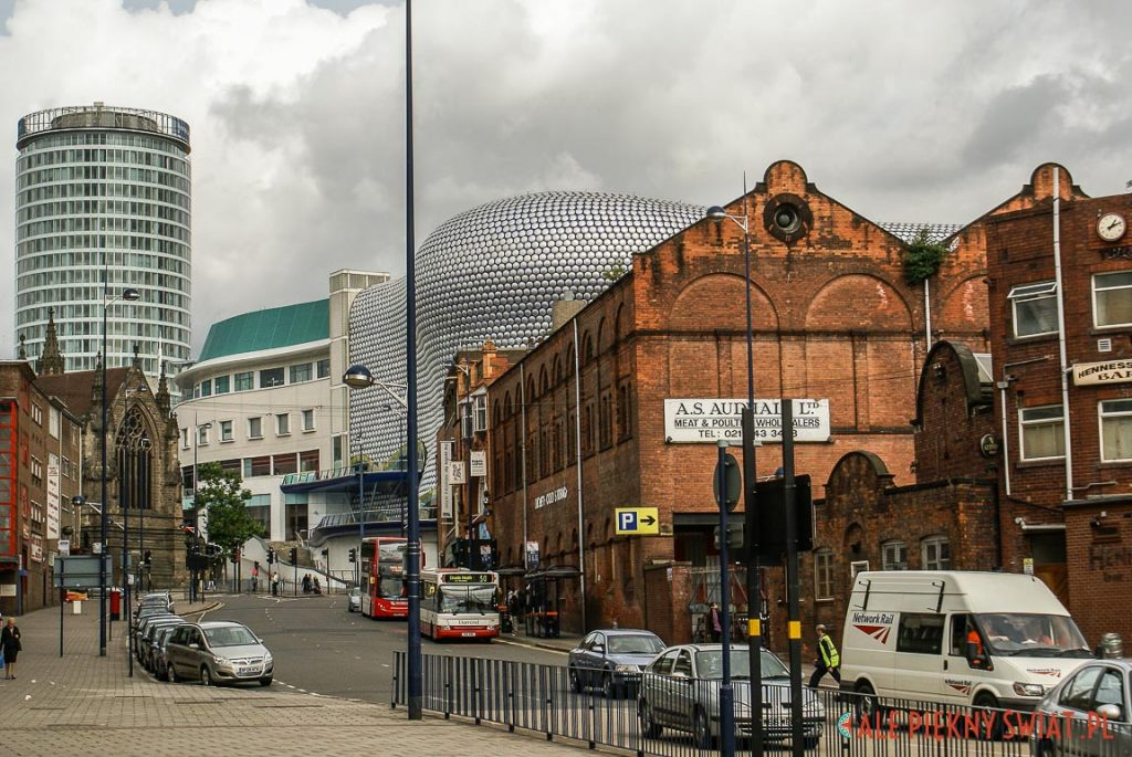 Panorama Birmingham na Selfridges