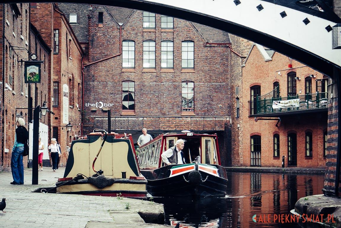 Kanały w Birmingham, czyli atrakcje Birmingham