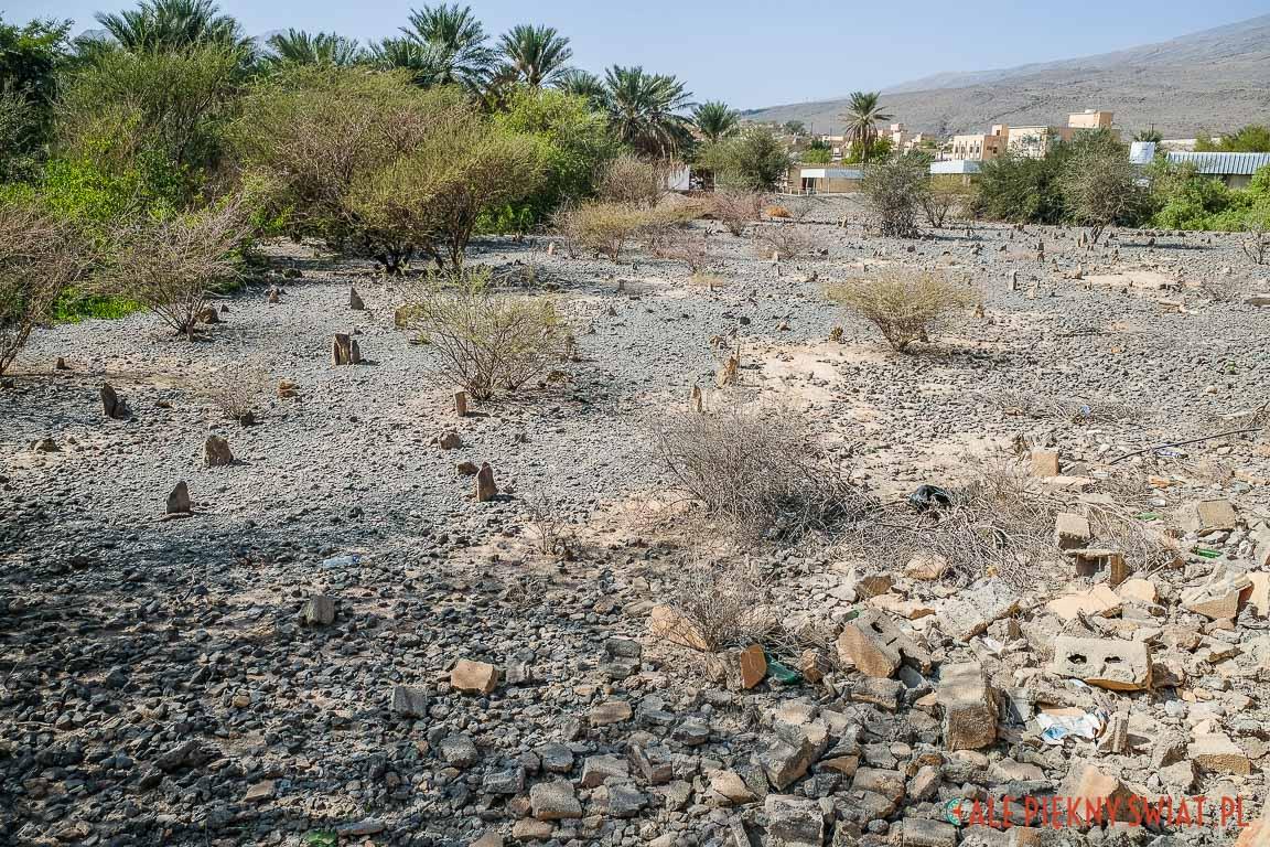 cmentarz w Omanie.