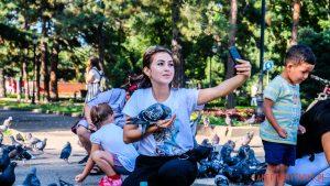 Selfi w parku - Almaty