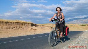 Ja i bambusowy rower i sakwy Extrawheel