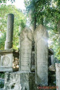 Groby na cmentarzu na Eyup w Stambule
