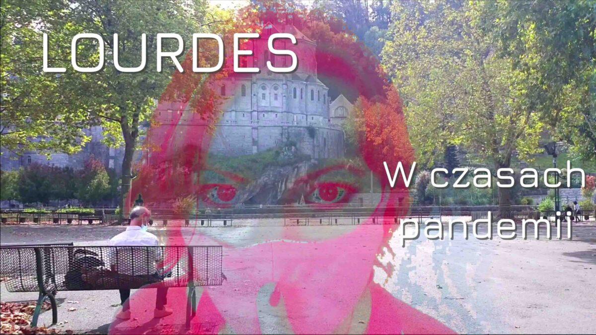Miniatura filmu o lourdes w czasach koronawirusa wykonana przez Dorotę Chojnowską