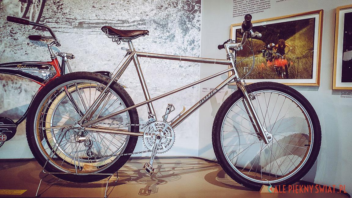 Pierwszy na świecie rower górski produkowany seryjnie. zobaczysz go na wystawie ROWERY w Centrum Nauki Kopernik