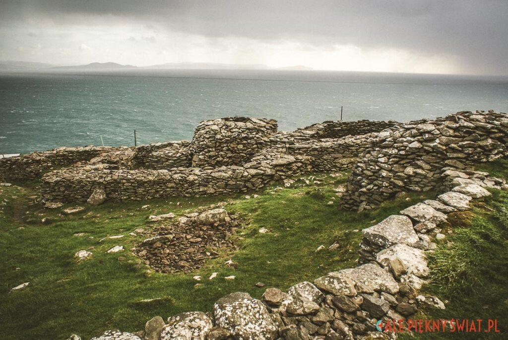 Clochán z Fahan w Irlandii