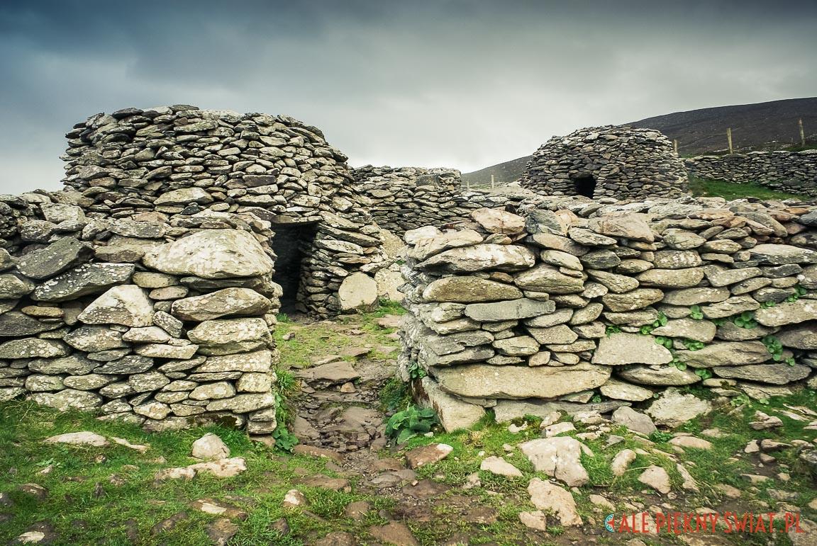 Clochán z Półwyspu dingle w Irlandii