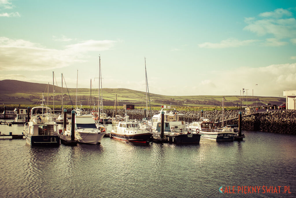Port w Dingle w Irlandii