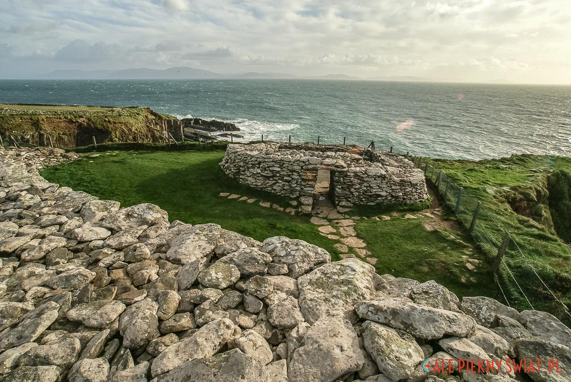 Fort Dun Beag w Irlandii